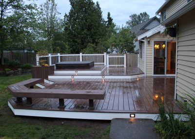 Custom Composite w/Hot-Tub in Redmond