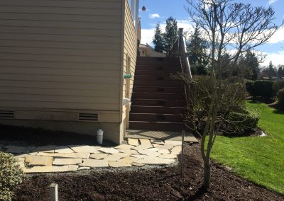Mukilteo Custom Deck + Windows + Pavers